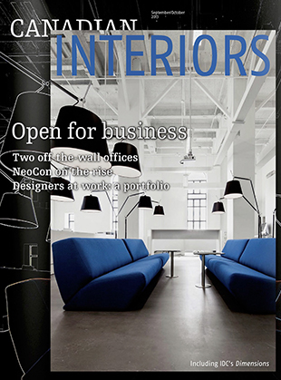CANADIAN INTERIORS MAGAZINE