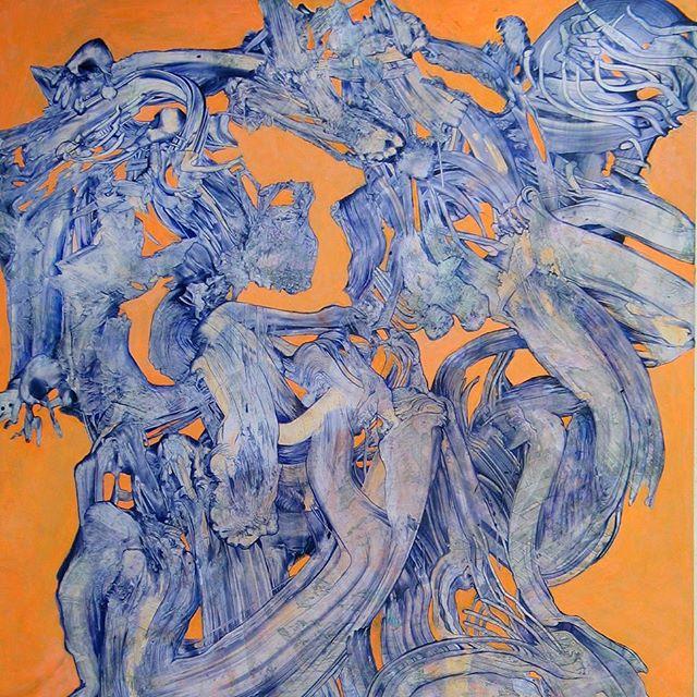 Daniel Rosenbaum at the New York Art Week Show 2017. Caelum Gallery 28 Feb-6 March. 508 W 26th St. #armoryweek #nyart