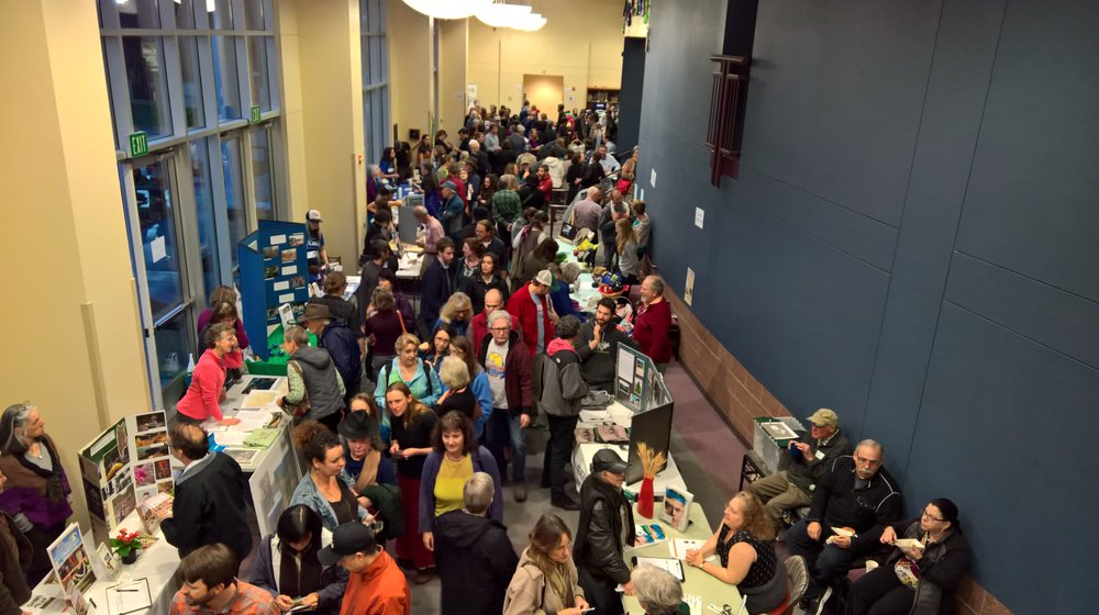 The crowd was thick at the 14th annual Siskiyou FilmFest.