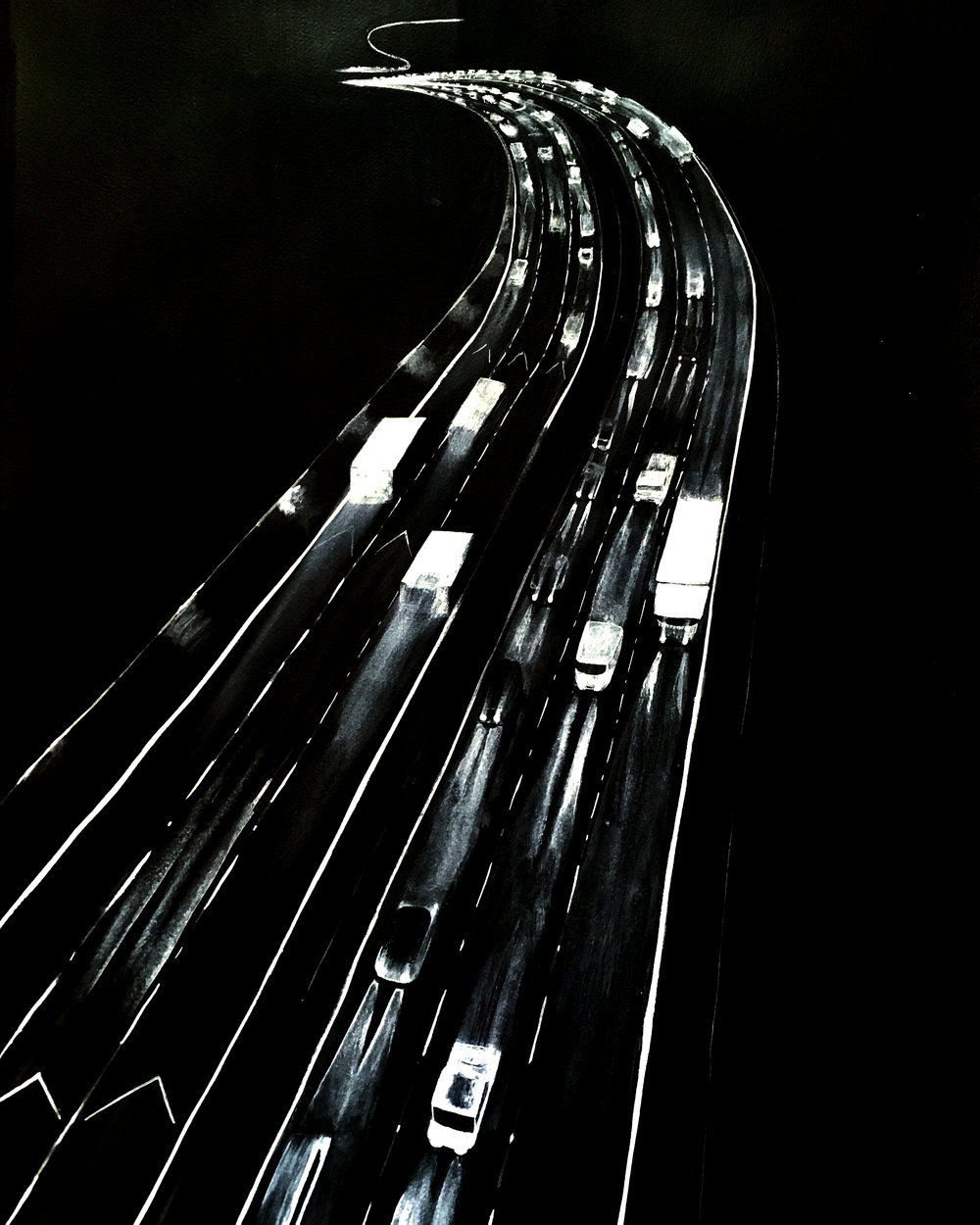 Traffic night, Derek .jpg