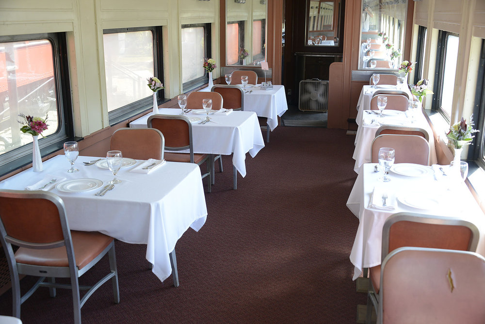Railroad Center Dining Car