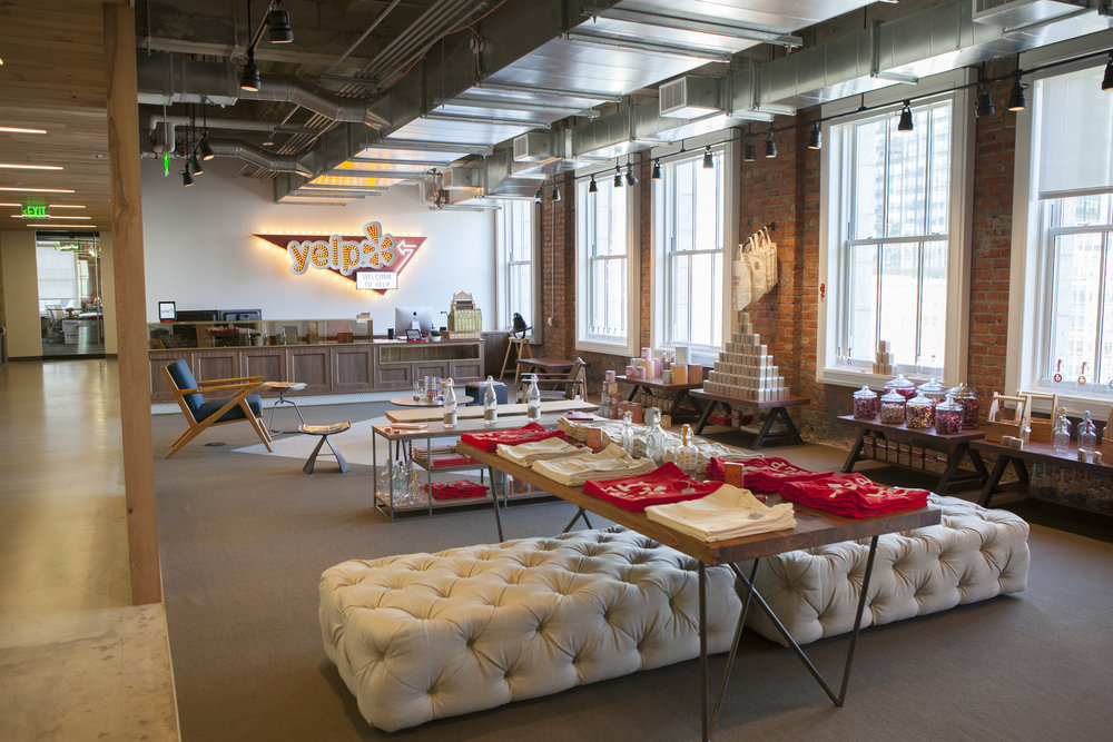 Click to take a tour of Yelp HQ.