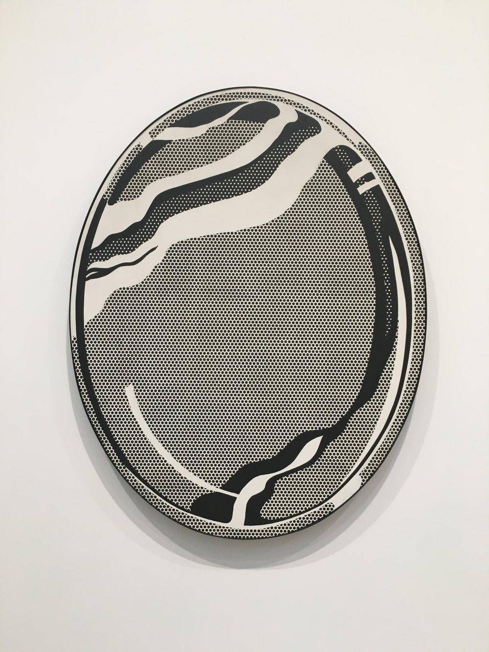 Mirror #1  by Roy Lichtenstein