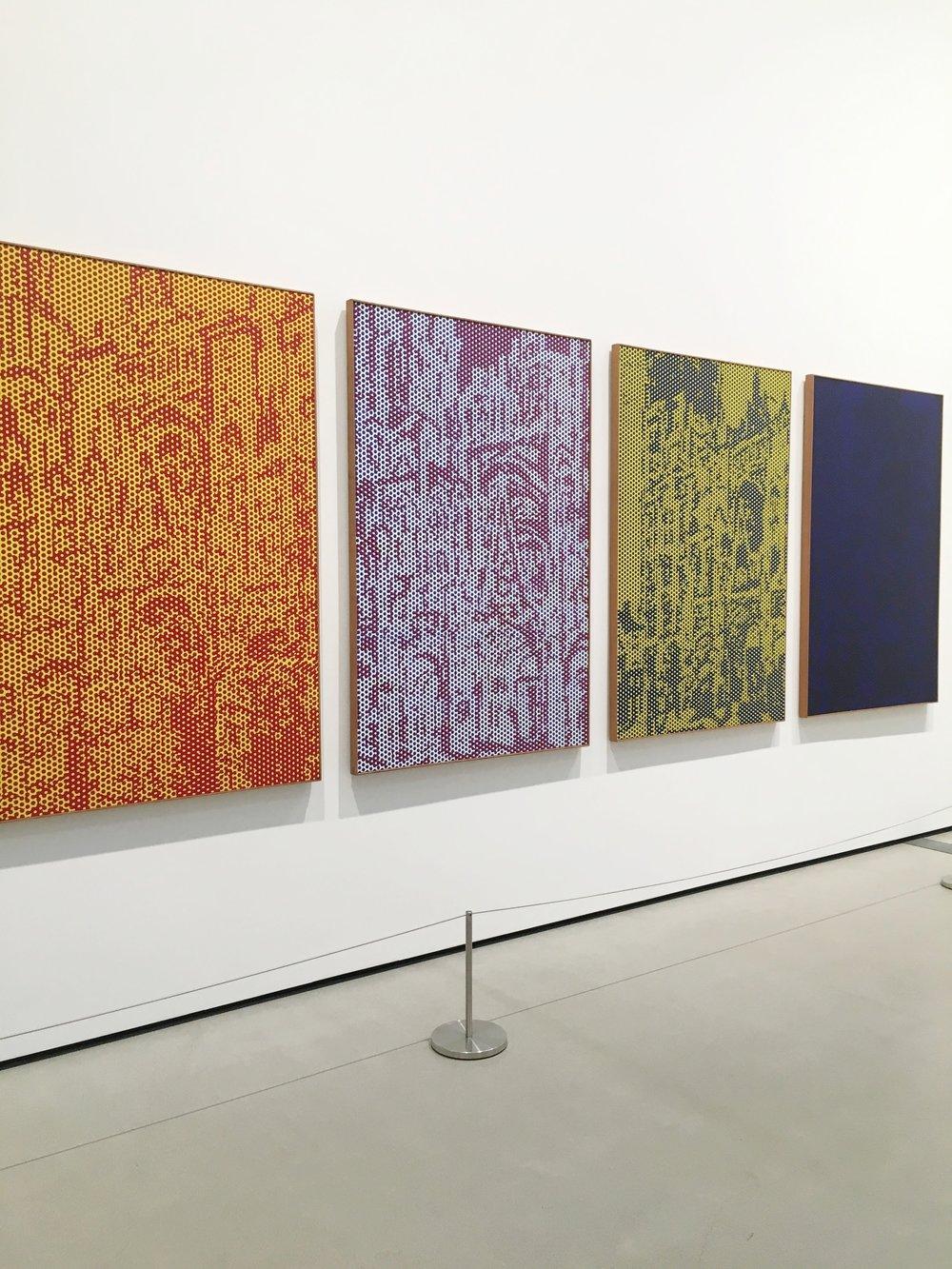 Area dedicated to Roy Lichtenstein