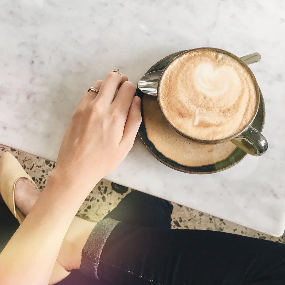Cuero, Papel & Tijera Café