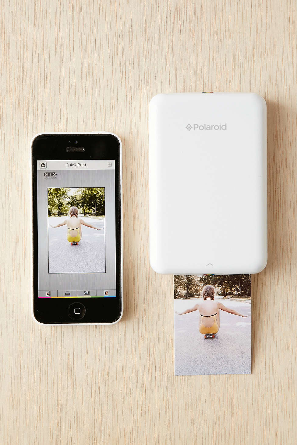 Polaroid Mobile Photo Printer $130