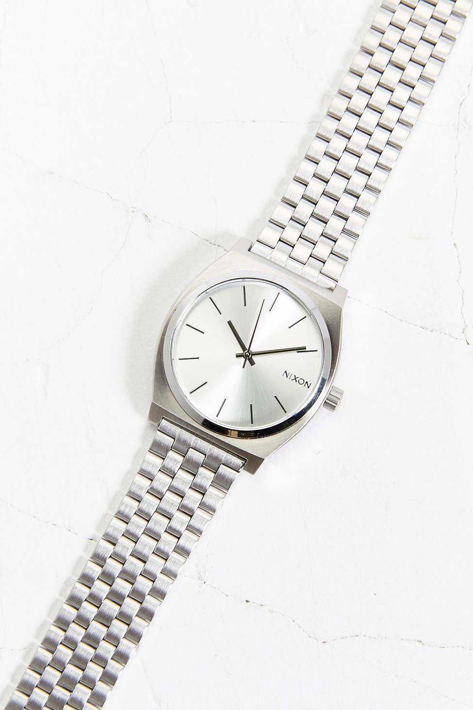 Nixon Metal Time Teller Watch $100