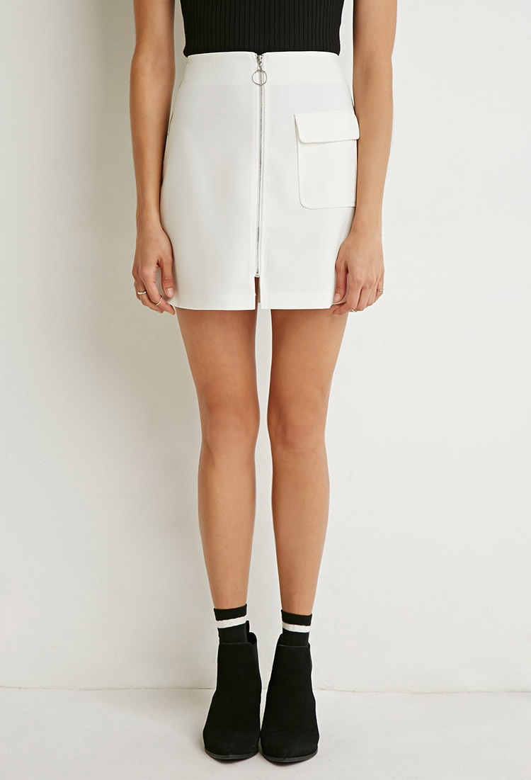 Zip-Front Mini Skirt.jpg