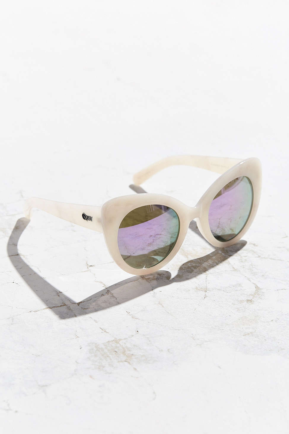 Quay Cateye White Sunglasses $55.jpg