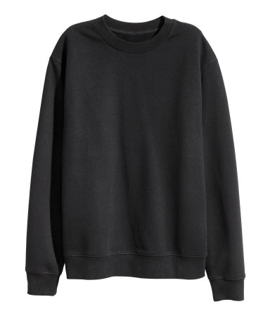 H&M Black Pullover
