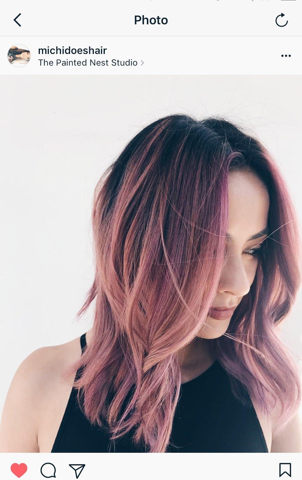 Amanda Davila Pink Hair