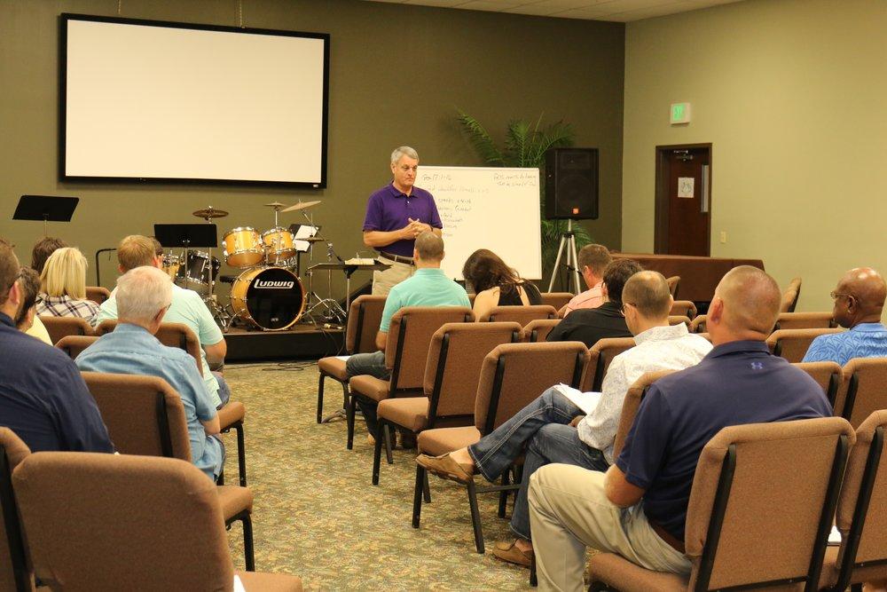 Sunday Classes at Hope Church Tupelo