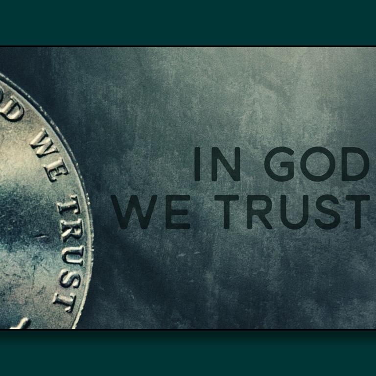 In God We Trust 9/24- 10/1/17