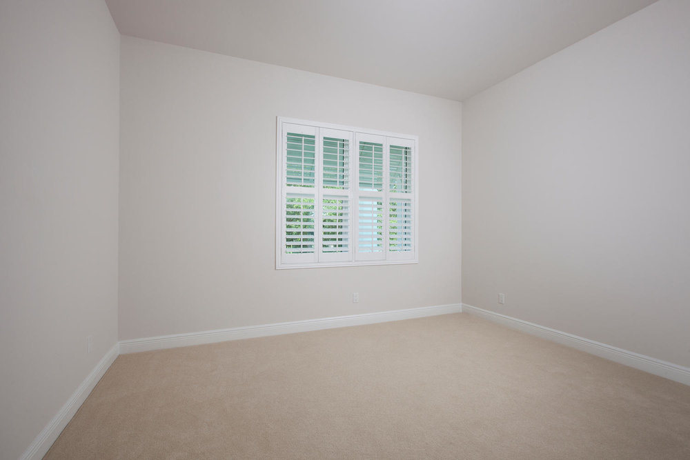 Bedroom in Pearl Street Cottage New Construction by Nease