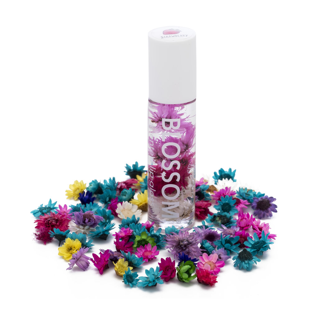 Roll On Lip Gloss Blossom Beauty Fresh Fragrant That Smells As Great It Looks Unique Formula Containing Mineral Oil For Super Soft Results Each Flavor Is Infused With Natural