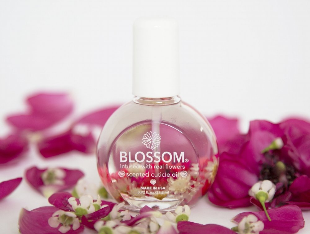 Cuticle oil one ounce blossom beauty contains nourishing essential oils and a fresh floral scent housed in our best selling round glass bottle our unique scents are available in 12 mightylinksfo