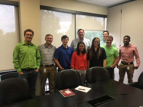 Members of the leadership team spoke to our interns about their journey with the company, career advice, and value interns bring to Acxiom.
