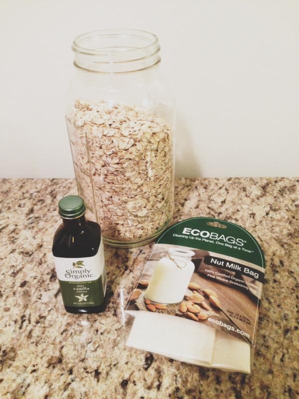 oat milk ingredients