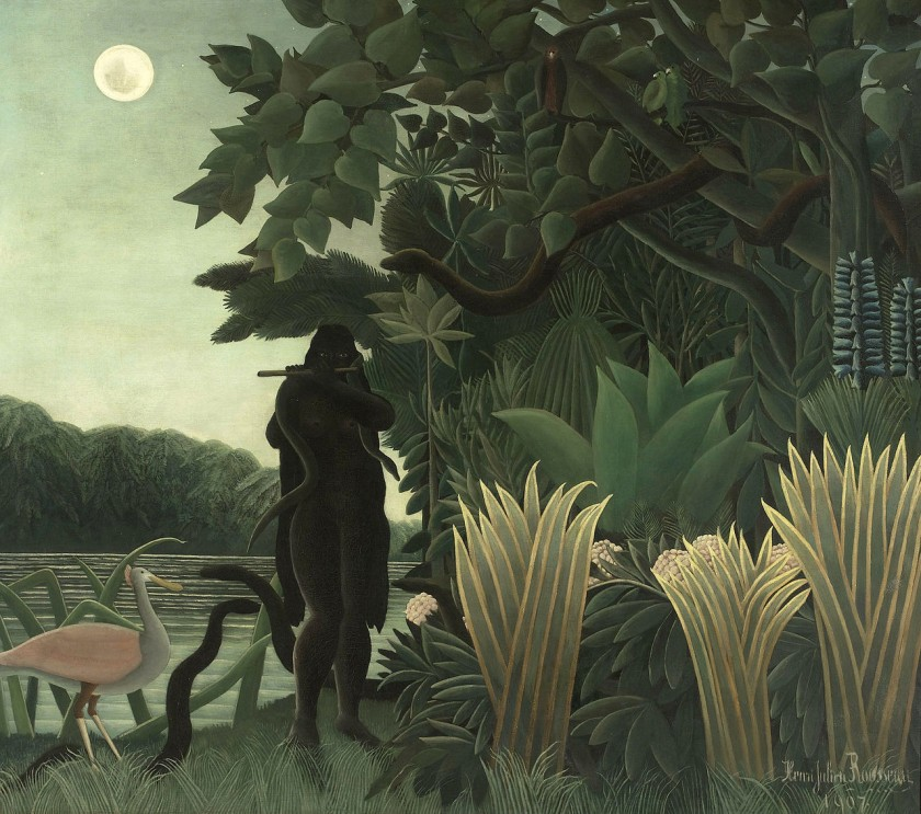 Henry Rousseau, The Snake Charmer, 1907