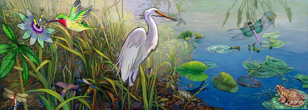 Wetland Creatures