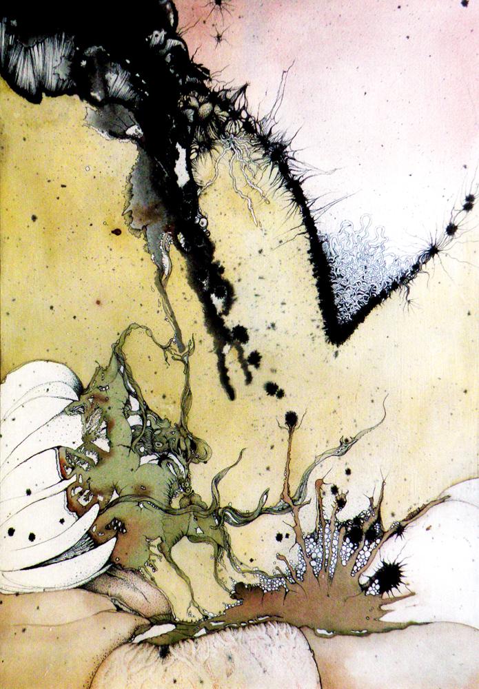 Dreams Disturb Her- VI, 2008