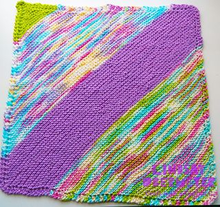 ©2016Lindsay-Obermeyer-Free Pattern-Quick-Knit-Baby-Blanket