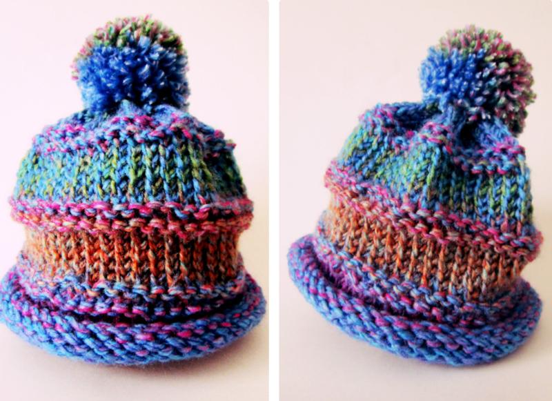 Free Pattern :: Loom Knit Baby\'s Cap — Lindsay Obermeyer Art Studio