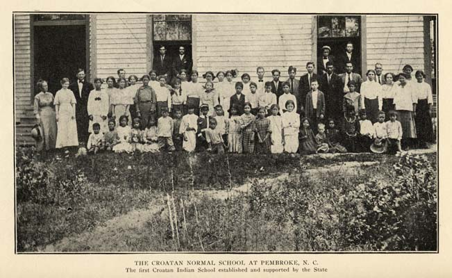 The Croatan Normal School at Pembroke, North Carolina (source: The University of North Carolina at Chapel Hill)