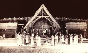 "A 1939 production of Paul Green's ""The Lost Colony,"" via TheLostColony.org"