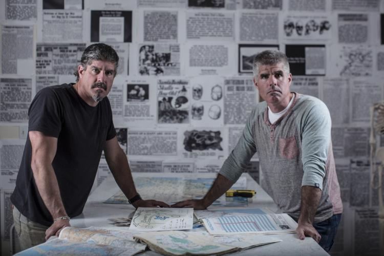 The Vieira Brothers, looking here for all the world like serious researchers, via New York Daily News