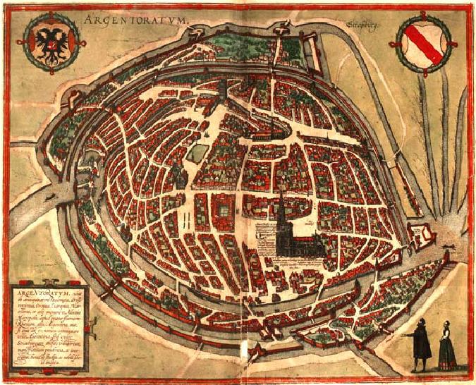 Strasbourg circa 1572, via ResearchGate
