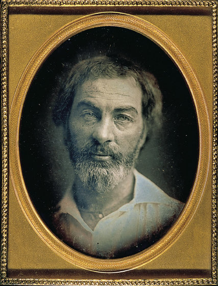 A young Walt Whitman, via The New York Times