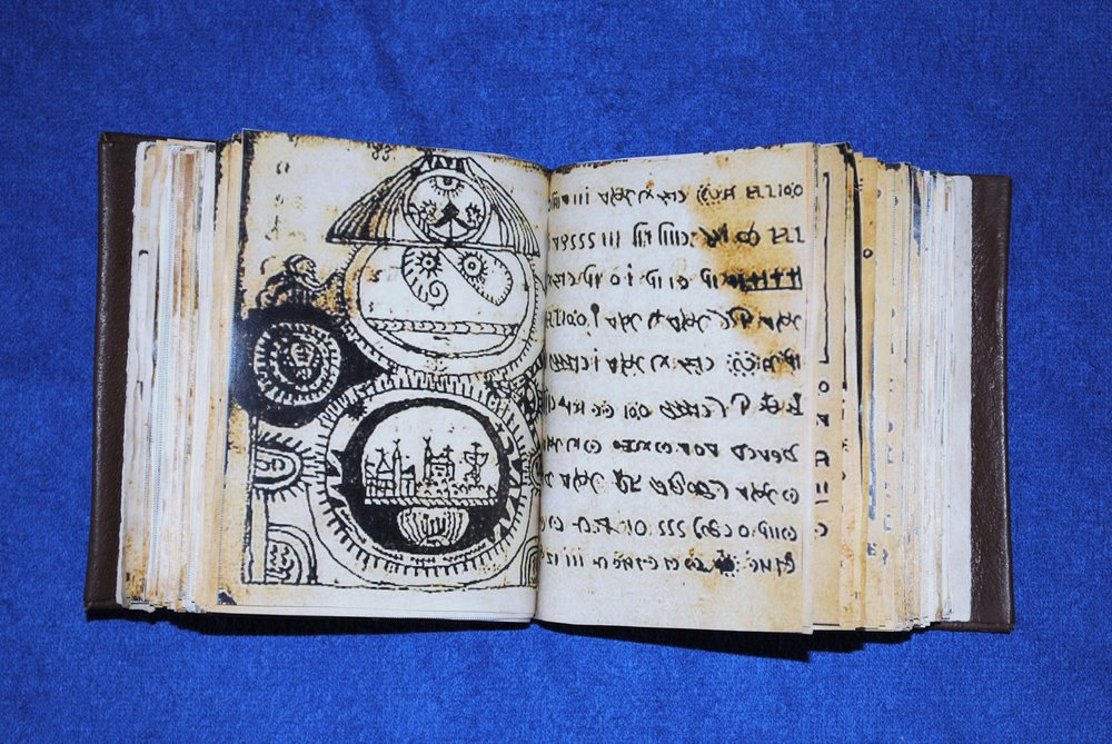 A facsimile edition of the Rohonc Codex, via Wikimedia Commons