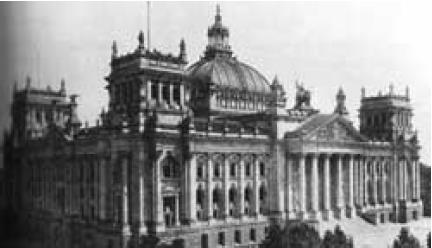 The Reichstag before the fire, from The Reichstag Fire by Fritz Tobias.