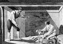 Kaspar's imprisonment, from a contemporary engraving, via LiFo