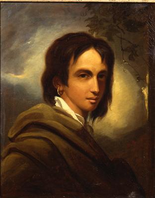 Portrait of Princess Caraboo of Javasu, circa 1817,by Thomas Barker of Bath, via Historical Portraits Image Library