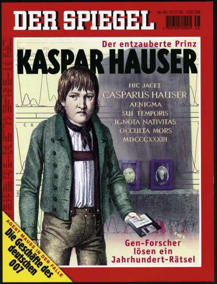 The cover of Der Spiegel, 25 Nov. 1996, via Der Spiegel Online.