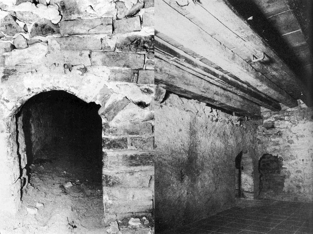 The cell discovered at Pilsach in the '20s where it has been suggested Hauser was confined, via  LiFo