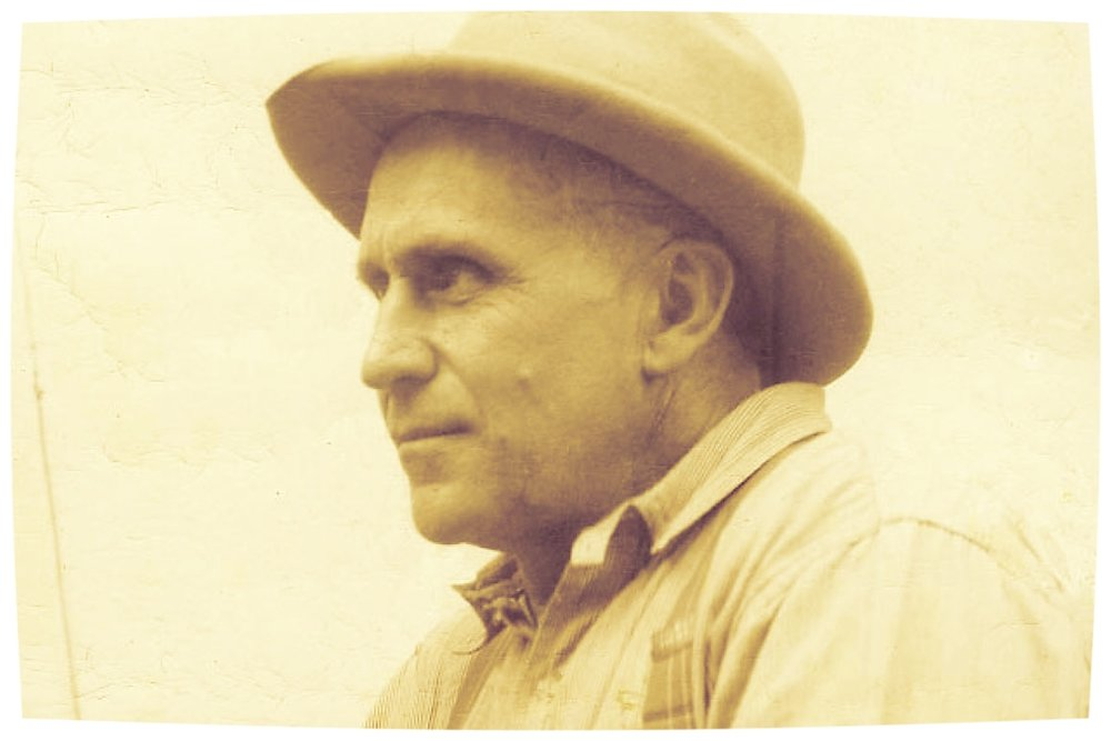 Portrait of Earl Dorr, via  The Mojave Project