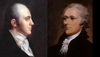 Burr and Hamilton, via History.com