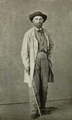 Fugitive Jubal Early in disguise as a farmer, via  Wikimedia Commons