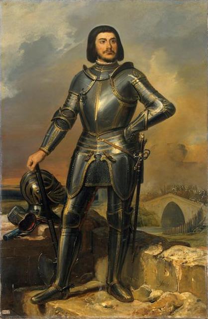 Portrait of Gille de Rais, via Wikimedia Commons