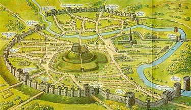 Medieval Norwich, via Culture24