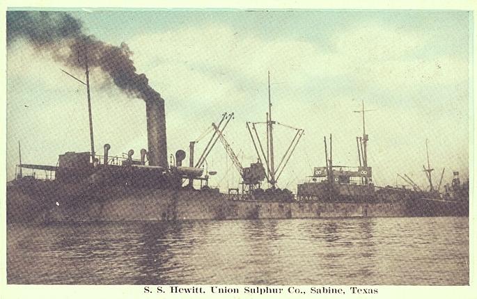 The S. S. Hewitt, via Wikimedia Commons