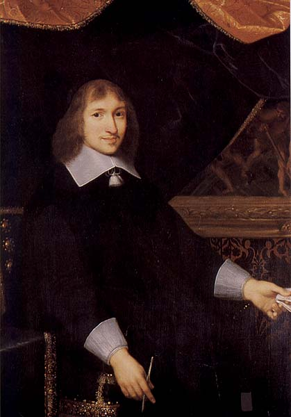 Portrait of Nicolas Fouquet, via  Wikimedia Commons