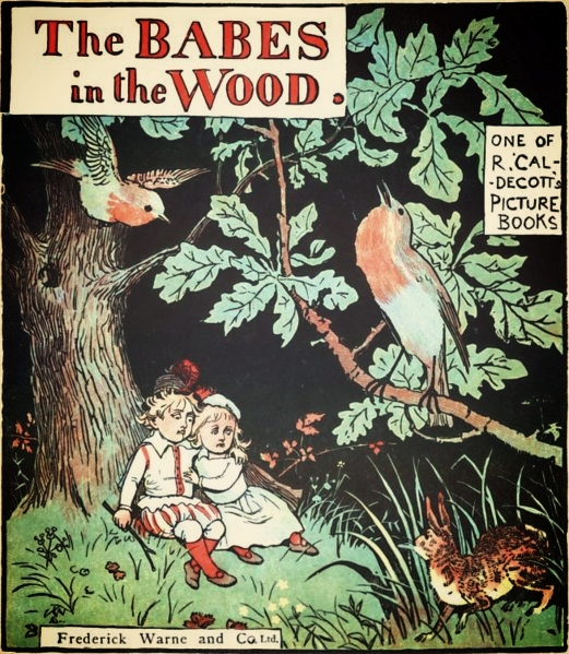 Cover of Caldecott's picture book, via  Wikimedia Commons