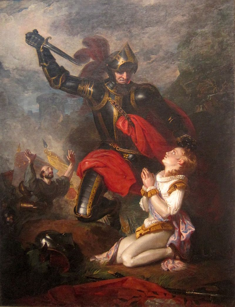 The Murder of Rutland by Lord Clifford, via Wikimedia Commons