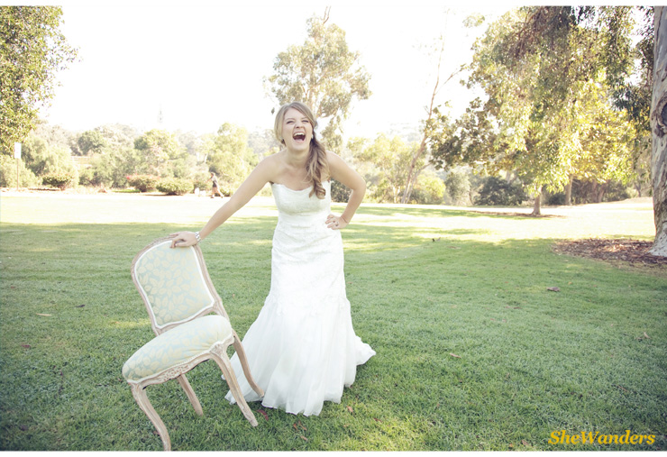 bride laughing, shewanders photography, san diego wedding photography
