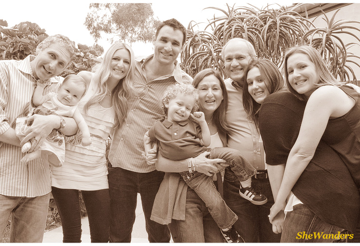 Singer Family Picture, San Diego Wedding Photography, SheWanders Wedding Photography