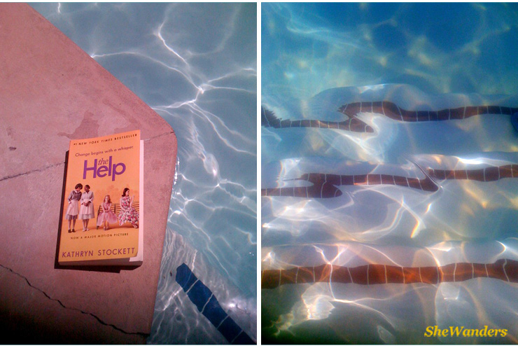 las vegas mgm pool, shewanders photography, the help, books to read by the pool